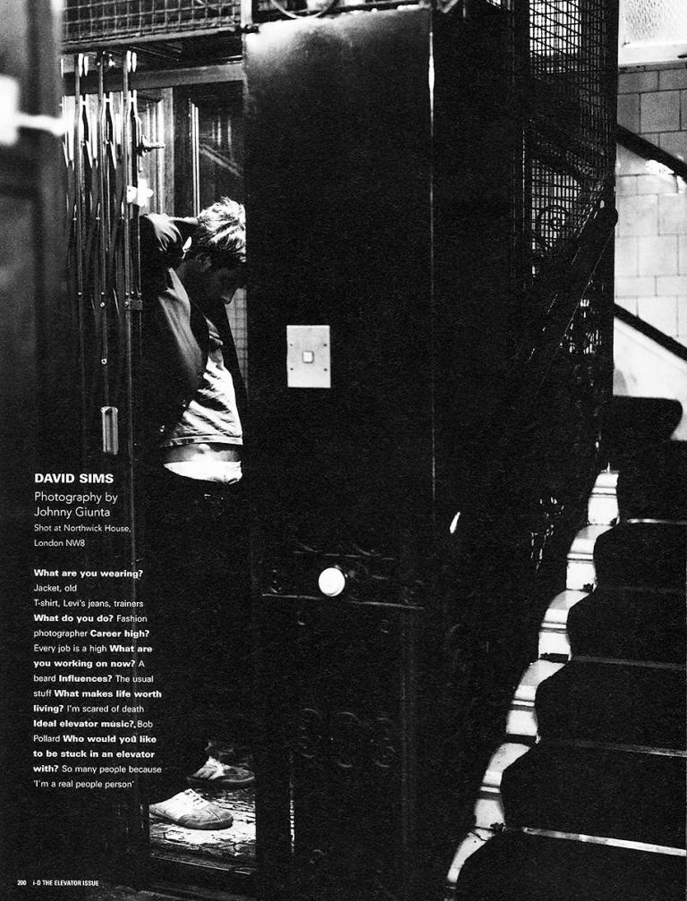 JOHNNY GIUNTA i-D Mag: David Sims