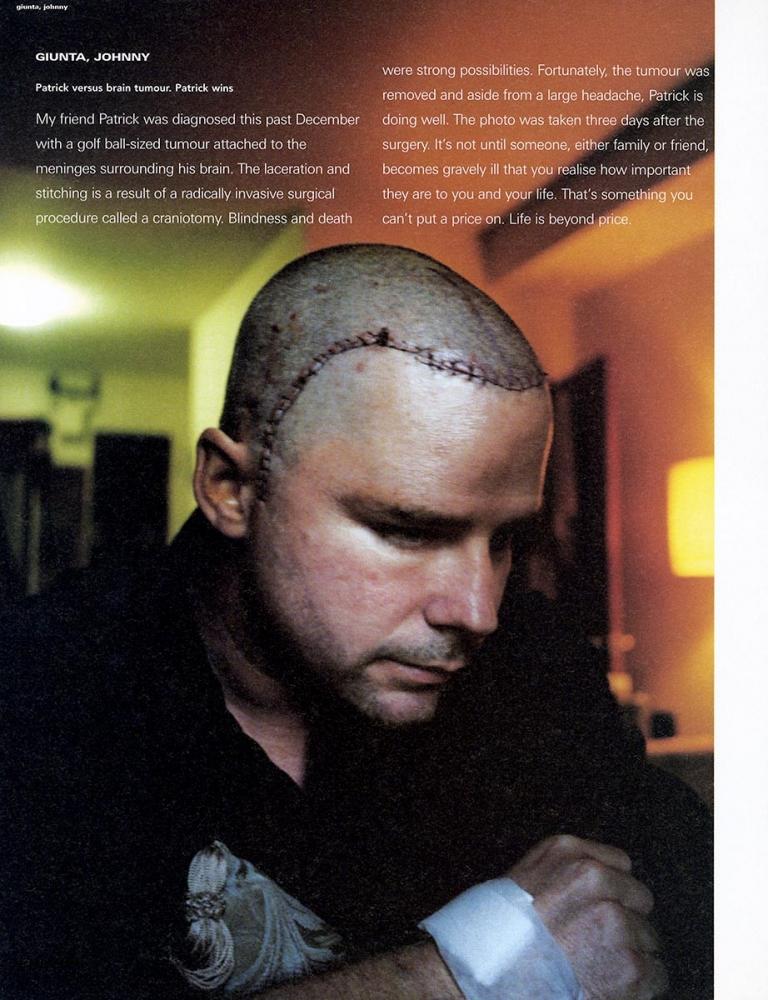 JOHNNY GIUNTA i-D Mag: Patrick McCarthy