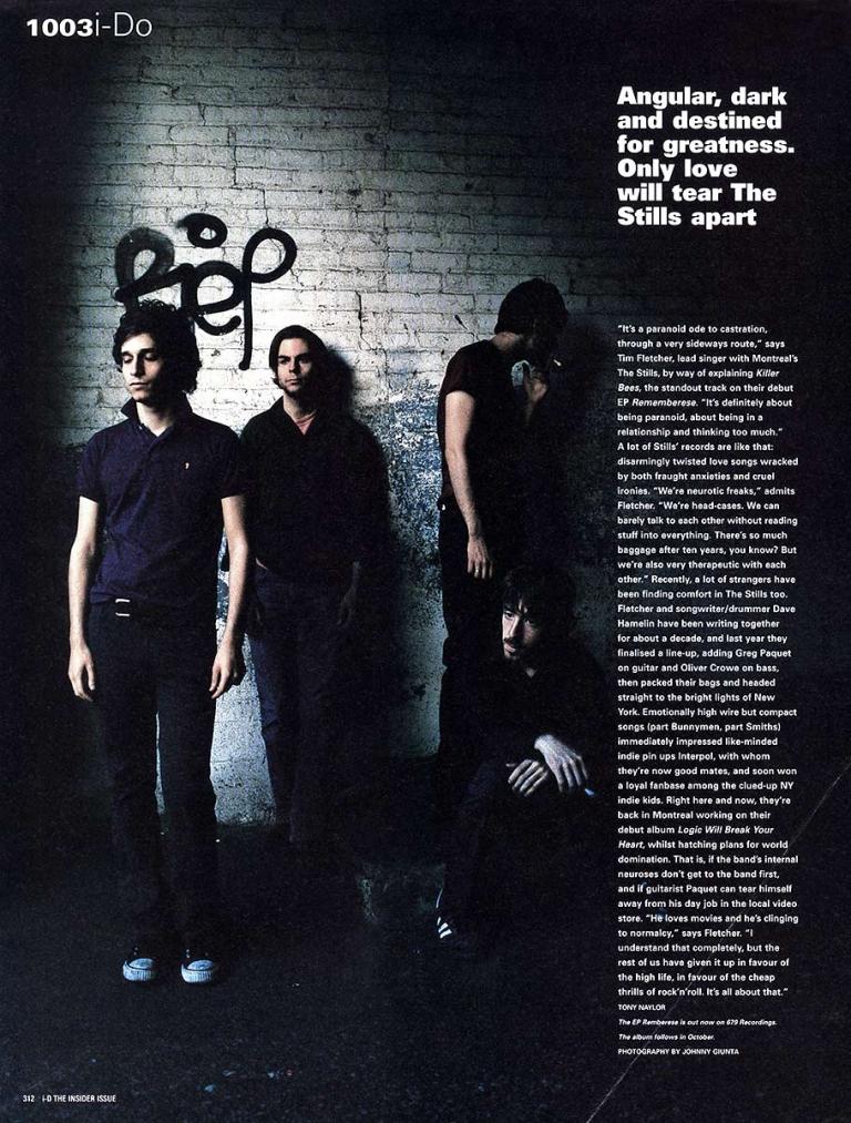 JOHNNY GIUNTA i-D Magazine: The Stills
